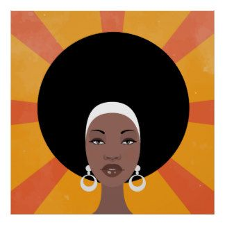 images of vintage african black hair accessories - Google Search