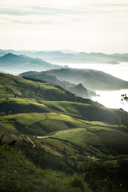 Magnifique paysage du Pays Basque aux alentours de Pasaia. #paysbasque #pasaia