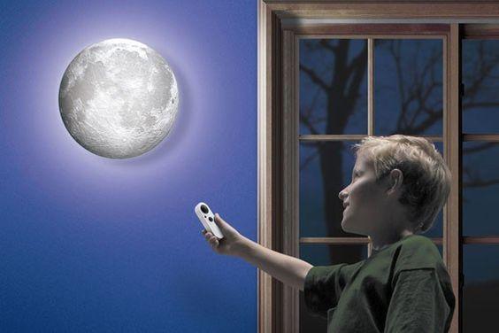 A Lua no seu quarto