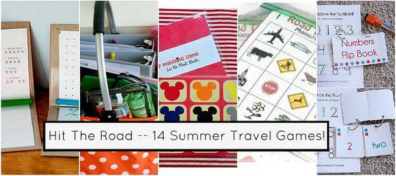 14 travel games