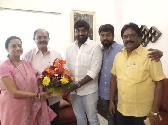Vijay Sethupathi To Star In Vijay Chander's Next For Vijaya Productions