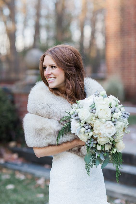 Winter Bride |  | Glamorous Winter Wedding | The Jon Hartman Photography Co | Bridal Musings Wedding Blog