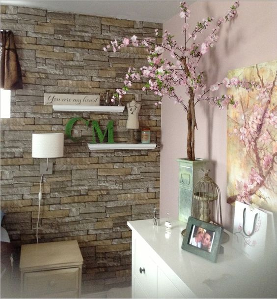 Kitchen Living Wall: Kitchen Wallpaper, Ideas And Ps On Pinterest