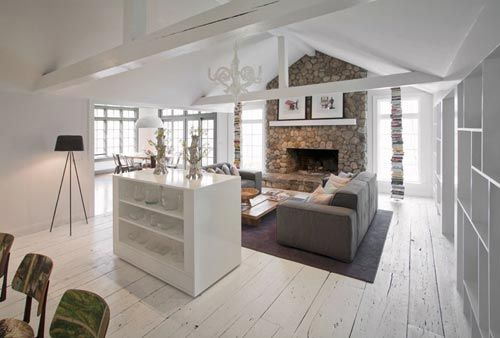L vormige woonkamer inrichten interieur inrichting idee n voor inrichting en decoratie - Huis decoratie voorbeeld ...
