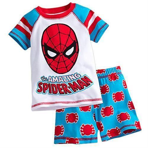 Boys Character PyjamasKids Long Sleeve Marvel Avengers Batman Spider-man Pjs