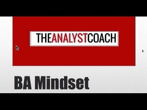 The Business Analyst Mindset #BusinessAnalyst Business Analyst - quality control job description