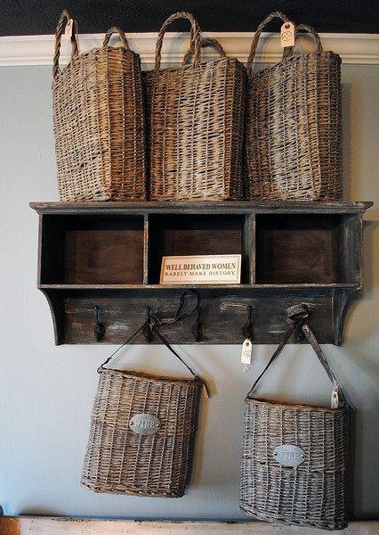 Bolsas de mimbres para decorar y guardar cositas