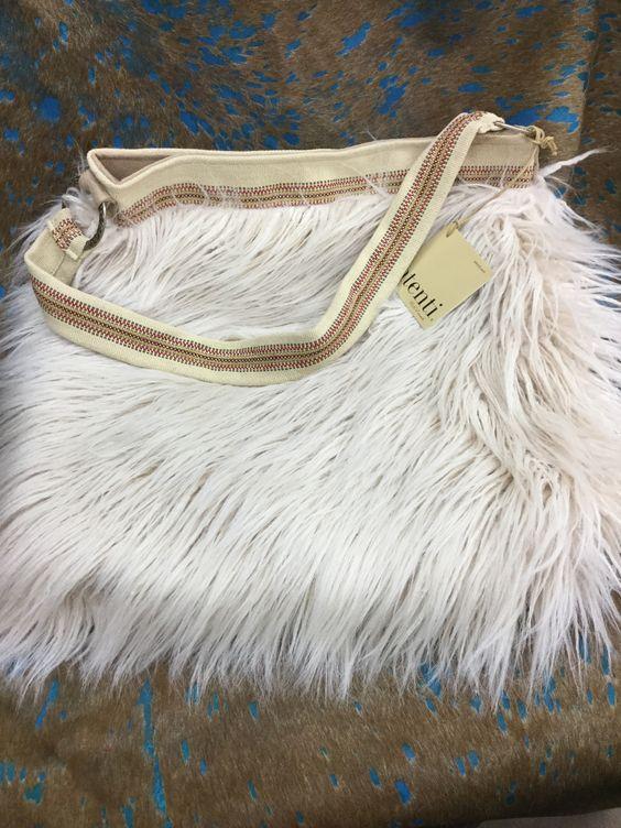 Atenti Ladies Handbag- Soft Tote Faux Llama
