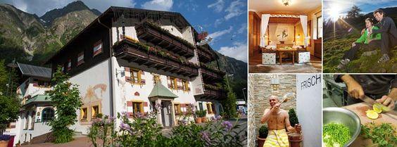 Hotel Kirchenwirt, Sankt Leonhard im Pitztal http://www.wanderhotels.com/oesterreich/tirol/item/14-hotel-kirchenwirt