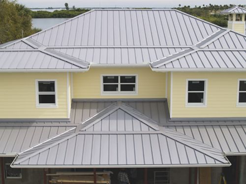White Standing Seam Metal Roof With Solar Panels   Google Search | Standing  Seam Metal Roofing | Pinterest | Metal Roof, Solar Panels And Solar