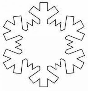 Plantillas De Copos Nieve Goma Eva Pinterest