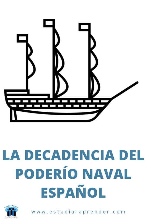 la decadencia del poderio naval español