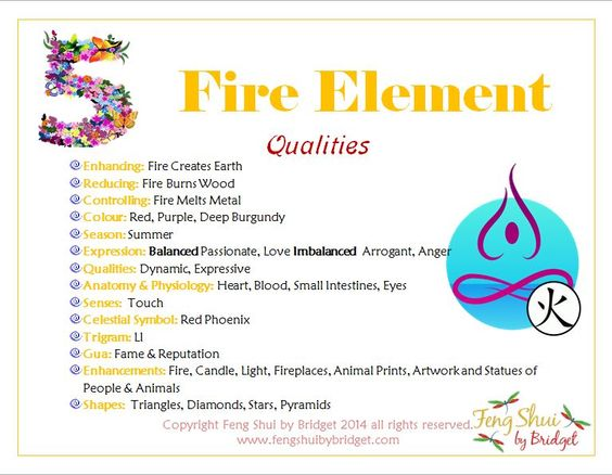 feng shui 5 elements and the fire element feng shui by bridget crystals chakra energies. Black Bedroom Furniture Sets. Home Design Ideas