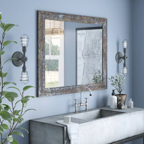 Williston Forge Wokingham 18 X 20 5 Peel And Stick Wallpaper Roll Reviews Wayfair In 2021 Bathroom Vanity Mirror Large Bathroom Mirrors Bath Mirror