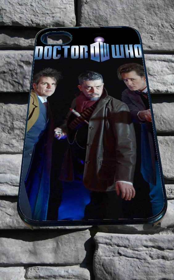 Doctor Who, Matt smith and friend for iPhone 4/4s, iPhone 5/5S/5C/6, Samsung S3/S4/S5 Unique Case *76*