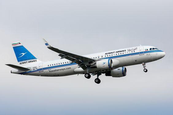https://flic.kr/p/qr5wD7   Kuwait Airways A320   F-WWBY / 9K-AKE MSN 6350 / Al Boom