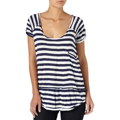 Quiksilver Bay Stripe T Shirt -