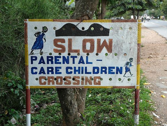 Slow Parental Care Children Crossing | por cowyeow