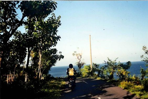 On the road at Bali