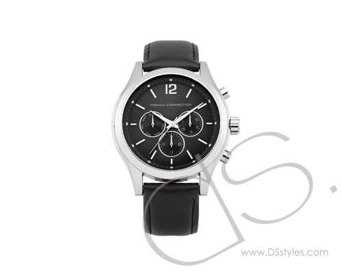 fcuk mens leather watch fc1144b french connection chronograph fcuk mens leather watch fc1144b french connection chronograph watch dsstyles
