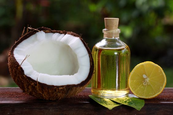 Deep condition your hair with virgin coconut oil for soft shiny glossy hair. Deep conditioning with virgin coconut oil is suitable for all hair types.