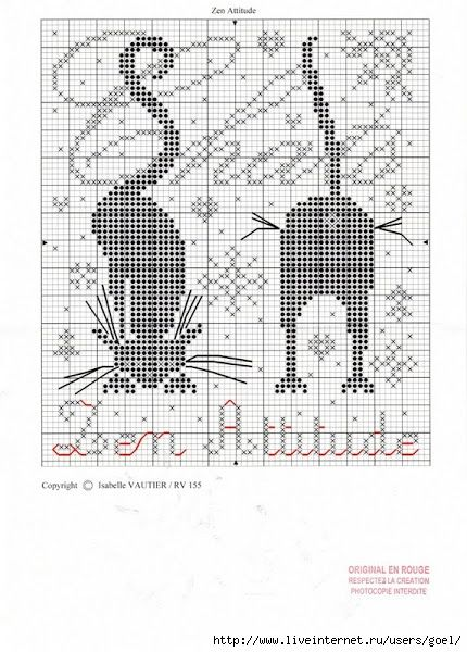 Cross Stitch *<3* Cats:
