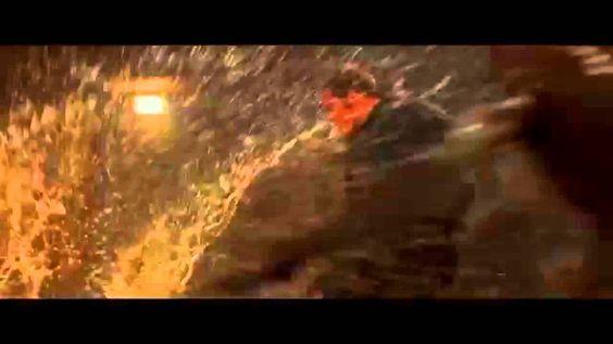 Mockingjay Part 2 - Finnick Odair and Mutts Fight Sneak Peek HD