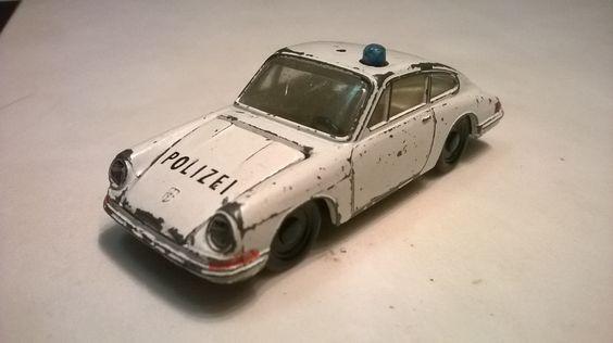 siku v234 porsche 901 polizei 1964-1970
