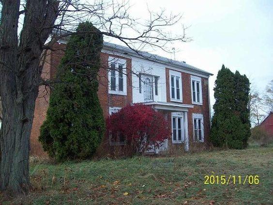 c. 1860 Greek Revival - Glenwood, IN - $124,900