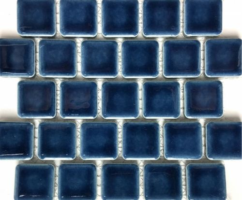 1 X 1 Pool Tile Collection Navy Blue 5 98 Per Square Foot In 2020 Pool Tile Blue Tile Wall Navy Blue Tile