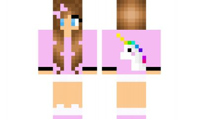 minecraft skin unicorn-girl Find it with our new Android Minecraft Skins App: https://play.google.com/store/apps/details?id=the.gecko.girlskins