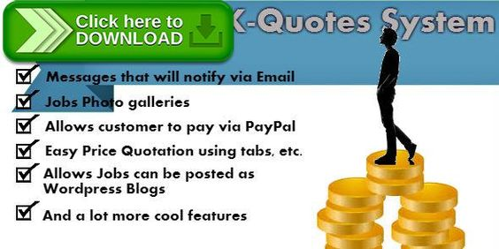 Free nulled K-Quotes Price Quotation System download - price quotation