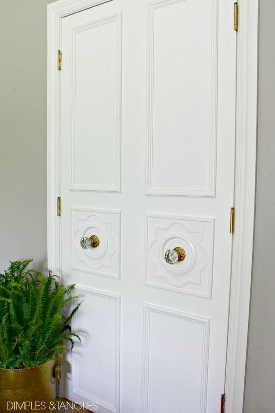 Bedroom makeovers door trims and doors on pinterest for Bedroom doors design catalogs