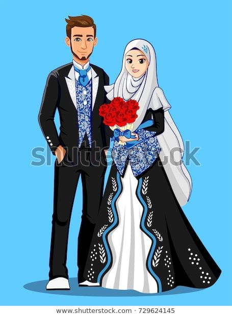 Trouvez Des Images De Stock De Muslim Wedding Couple Black Blue Suit En Hd Et Des Millions D Autres Photos Gambar Pengantin Gambar Perkawinan Pengantin Muslim