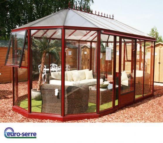 Jardin d'hiver EURO EXOTIC. Plusieurs dimensions.
