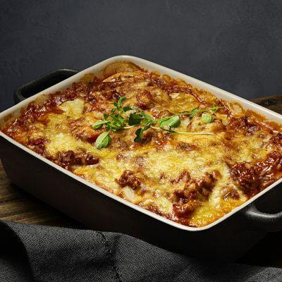 lasagne med potatis