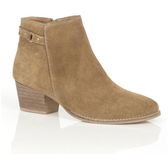 SALLY STRAP ANKLE BOOT (£72) ❤ liked on Polyvore featuring shoes, boots, ankle booties, bootie boots, ankle bootie boots, ankle boots and short boots
