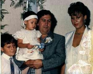 "Pablo Emilio Escobar Gaviria know as ""Pablo Escobar"" and his family."