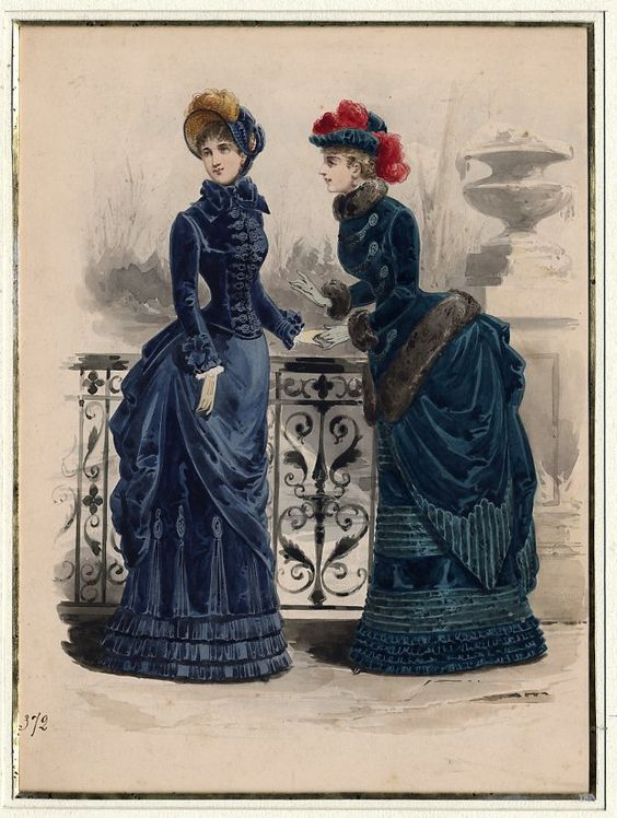 dessin original : ANONYME VERS 1870 N°9