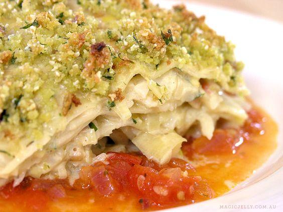 Vegan Cauliflower & Almond Lasagne