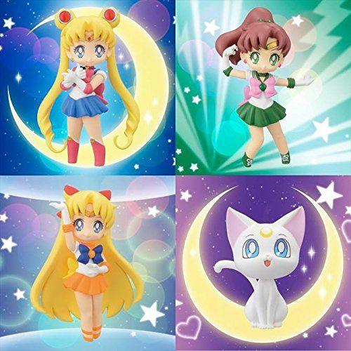 Amazon.co.jp | Sailor Moon coletadas e números para girls2 todos os quatro set | Loja de Brinquedos