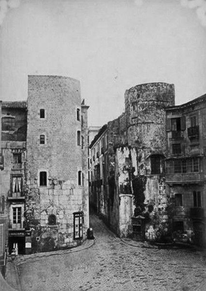 Barcino, la primera Muralla Romana - La Barcelona de antes