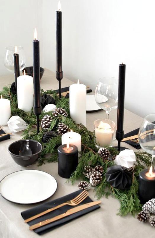 Cozy Scandinavian Christmas Decor Ideas 2019 Marmaletta Design Diy In 2020 Holiday Table Decorations Scandinavian Christmas Decorations Christmas Table Centerpieces