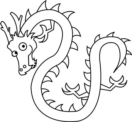 Easy To Draw Chinese Dragons