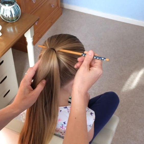 The Chopstick Birdcage Braid Full Video Sweethearts Hair Design Hair Designs Hair Styles Hair Videos