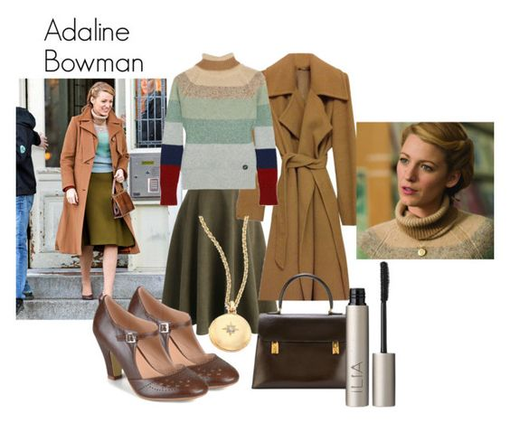 """""""Age of Adaline- Adaline Bowman"""" by nchavez113 on Polyvore featuring Retrò, Chicwish, Journee Collection, MaxMara, Hermès, Astley Clarke and Ilia"""
