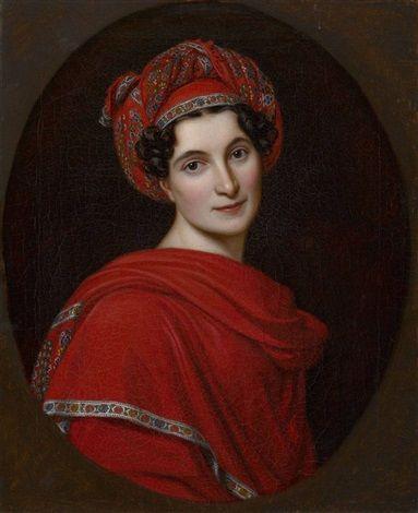 Therese Alexandra Freifrau von Tettenborn von Joseph Karl Stieler