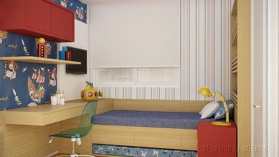 Suite Menino - projeto residencial de RF Design de Interiores