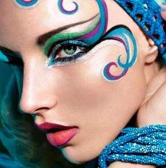 Post sobre maquillaje para #carnaval y mucho más
