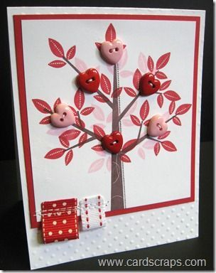 Stampin Up! Valentine's Day: